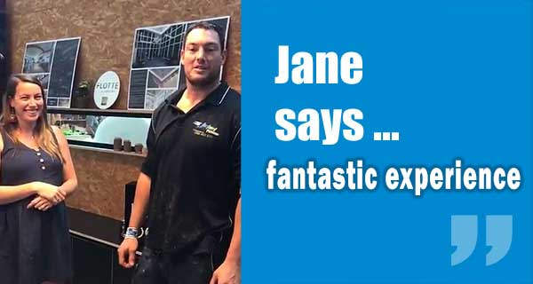 Jane Says Fantastic Experience
