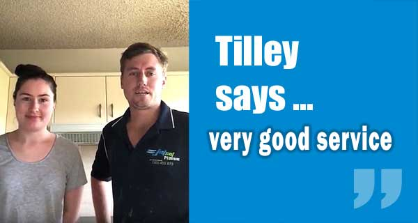 Tilley Says Very Good Service